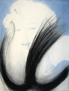 For Sale on - Marilyn Monroe – Blau, Etching by Arnulf Rainer. Offered by MLTPL. Arnulf Rainer, Marilyn Monroe, Contemporary, Portrait, Prints, Inspiration, Image, Products, Art