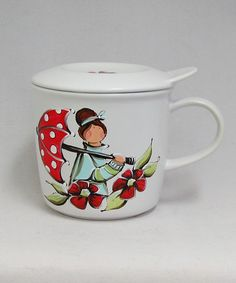 Tasse à tisane ou thé : : Angéline *** Produit peint à la main.