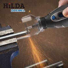 1 UNIDS Nuevo Escudo Accesorios de Fijación A550 Para Mini Taladro Herramienta Rotativa Amoladora Mini Caso de la Cubierta de herramientas Dremel Accesorio