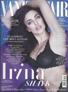 Vanity Fair magazine Supermodel Irina Shayk Gigi Hadid Theo James Liv Tyler