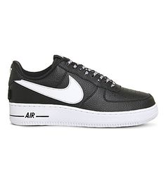 huge discount 0d3f3 b1ff4 NIKE Air Force 1 07 leather sneakers. nike shoes