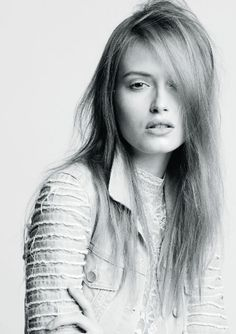 For this commercial take on the grunge theme, TIGI's Thomas Osborn prepped the hair with Sleek Mystique Fast Fixx Style Prep and Your Highness Root Boost Spray, then blow-dried strands using his hands to maintain separation. Next, he applied a bit of Session Series Transforming Dry Shampoo to achieve matte separation and finished the style with Session Series Finishing Hairspray.