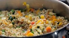 Pohankové rizoto — Recepty — Herbář — Česká televize Fried Rice, Good Food, Food And Drink, Gluten Free, Healthy Recipes, Eat, Cooking, Ethnic Recipes, Fitness