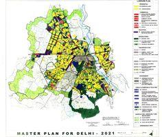 Delhi Master Plan 2021 – Map & Highlights