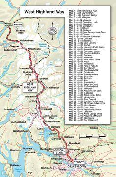Trailblazer Guide Books – West Highland Way: Milngavie to Fort William