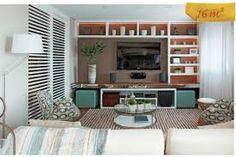 Risultati immagini per decoração de home theater com papel de parede