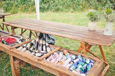 Wedding Reception Menu Idea: Backyard Barbecue