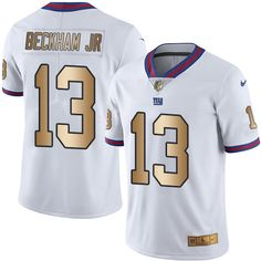 08d3ce699bc Nike Giants Eli Manning White Men s Stitched NFL Limited Gold Rush Jersey  And Falcons Taylor Gabriel jersey