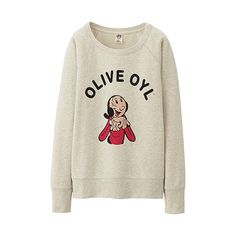 WOMEN POPEYE Sweat Pullover  - UNIQLO UK Online fashion store