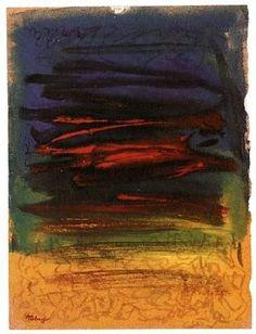 Mark Tobey * American Landscape* 1970