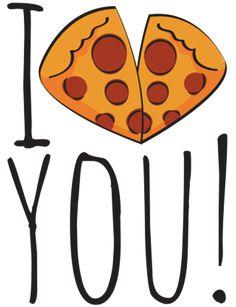Camiseta I pizza you! do Studio Roselices na Colab55   #pizza #love