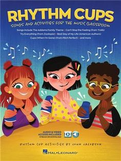View the Product: Rhythm Cups - Song and Activities for the Music Classroom, Series: Collections, Medium/Format: Softcover Media Online, Contributors: John Jacobson Online Music Lessons, Music Lessons For Kids, Music Online, Music For Kids, Drum Lessons, Primary Lessons, Music Activities, Music Games, Rhythm Games