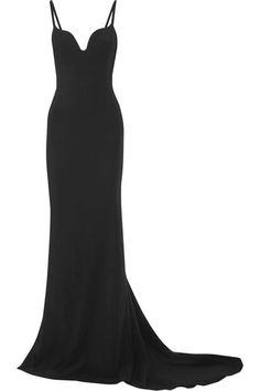 Stella McCartney - Primrose Stretch-cady Gown - Black - IT44