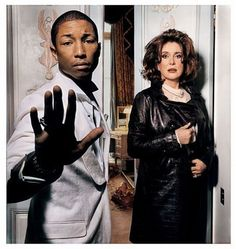 Pharrell Williams & Catherine Deneuve