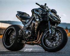 Encontre este Pin e muitos outros na pasta Kawasaki de Kawasaki - Schönes Motorrad - Motos Moto Chopper, Chopper Motorcycle, Moto Bike, Street Fighter Motorcycle, Futuristic Motorcycle, Custom Street Bikes, Custom Sport Bikes, Kawasaki Motorcycles, Cool Motorcycles