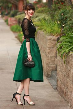 Emerald Midi4 by Jeans and a Teacup, via Flickr