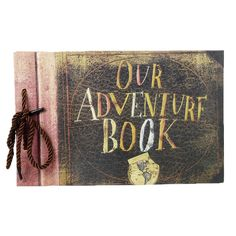 Our Adventure Book - inspired by movie Up Our Adventure Book, Adventure Travel, Start Writing, Stuff To Do, Best Gifts, Travel Photography, Angel, Movie, Memories