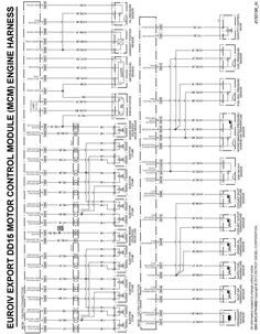 Detroit Diesel Series 60 DDEC IV Wiring Diagram On Detroit