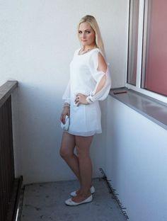 OOTD: White SheIn mini dress | www.beautybymissl.com @beautybymissl
