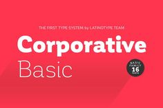 cool Corporative Basic Family - 75% off!
