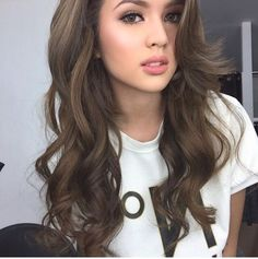 Cute Ash Brown Hair Color