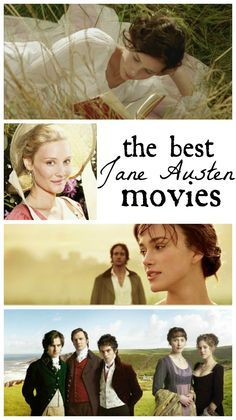 Some Jane Austen movies are terrific; some will make you feel like you squandered two hours. Here's a guide to the best of Jane Austen on film.(You Are My Favorite Movies) Elizabeth Gaskell, Period Movies, Period Dramas, Charlotte Bronte, Movie List, I Movie, Movies To Watch, Good Movies, Jane Austen Movies