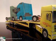 bouwplaatvanjeeigentruck-paper model-daf xf-truck transport trailer-estepe_04