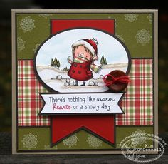 "Paper Perfect Designs by Kim O'COnnell: There She Goes Clear Stamps  ""Holiday Cheer"""