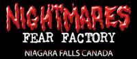 Nightmares Fear Factory Niagara Falls- man if I ever get up that way it has to be around halloween so I can go here!