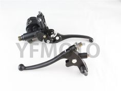 38.35$  Watch more here - http://ai11u.worlditems.win/all/product.php?id=32700722472 - 22mm Universal Motorcycle Hydraulic Brake Master Cylinder Clutch Levers 7/8 Handlebars Left&Right  Black