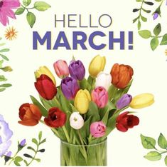 We ❤️ March cause spring is almost in the air.