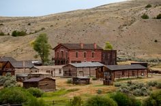 Abandoned Montana: Gold Rush Towns Sit In All Their Ghostly Glory (PHOTOS) Bannack State Park.