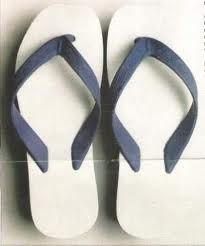 "THONGS!  We didn't call them ""flip-flops.  However I remember senior year during a family trip to Florida, my mom asked at a beach shop if they had ""thongs"" and the clerk remarked ""I hope you mean the shoe!""  I was mortified."