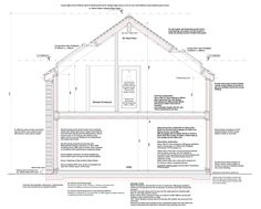 Projekt fassadenschnitt fassadenschnitt16ba pinterest for Innenraumdesign studieren