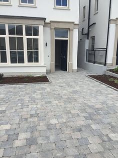 Tobermore Tegula – Slate, Tumbled Block Paving For Driveways & Gardens Front Garden Ideas Driveway, Modern Driveway, Driveway Design, Driveway Landscaping, Block Paving Driveway, Stone Driveway, Grey Block Paving, Paving Design, Small Front Gardens
