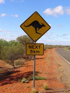 Australia - Roadsign