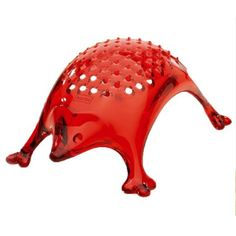 Koziol Kasimir Cheese Grater, Transparent Red