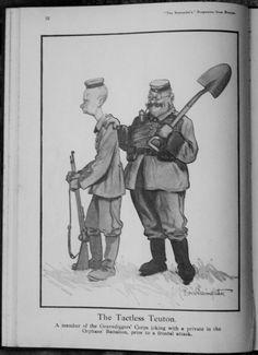 Verb Words, D Day Normandy, World War I, Wwi, First World, Empire, British, France, Cartoon