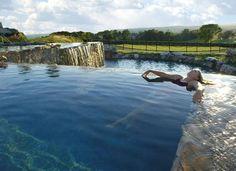 Infinity pool at Crystal Springs Resort (Vernon, NJ) - ResortsandLodges.com #travel #pool