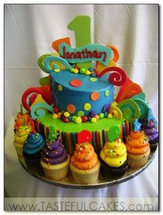 Cupcakes « Custom Cake Bakery | Wedding Cakes | Birthday Cakes | Unique Pastries | Custom Cupcakes | Tasteful Cakes | Corona, Riverside County, CA