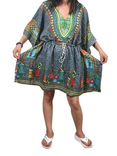 Womens Kaftan Boho Dresses Grey Tribal Dashiki Print Caft... https://www.amazon.ca/dp/B01N085GAO/ref=cm_sw_r_pi_dp_x_H5fJyb1ST19RZ