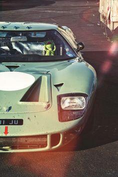 itsbrucemclaren:  Ford GT40