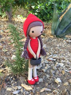 Little Red Riding Hood by LaCrocheteriaDesign on Etsy