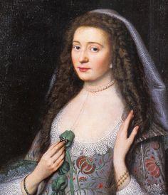 Van Honthorst Gerrit Studio Elisabetta, principessa Palatine 1630