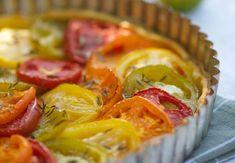 Tarte aux tomates multicouleursVoir la recette de la Tarte aux tomates multicouleurs >>