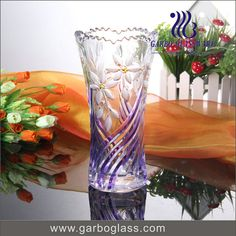 Flower engraved design with spray color , nice for gift !