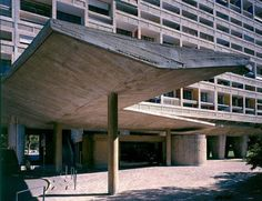 """A """"city within a city"""", the iconic l'Unite d' Habitation, commonly known as La Cité Radieuse, was designed by notable Swiss-French architect Charles-Edouard Jeanneret Le Corbusier and inaugurated on October 14th 1952. The concept of La Cité Radieuse formed the basis of several Le Corbusier-designed developments. A total of five such residential housing developments were constructed throughout Europe in the late 1950s and early 1960s. Other Unités were built in Nantes-Rezé 1955…"""