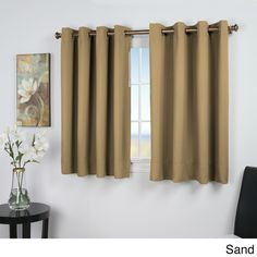Ricardo trading ultimate blackout 56 in grand pointe 54 in w x 45 l 45 inch long curtains thecurtain panel of navy blue blackout curtains attractive light blocking curtainsRicardo Trading Ultimate Blackout. Short Window Curtains, Drop Cloth Curtains, Grommet Curtains, Hanging Curtains, Drapes Curtains, Short Curtains Bedroom, Kids Curtains, Rustic Curtains, Curtains For Basement Windows