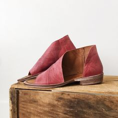 Free People Mont Blanc Sandal in Cherry | ROOLEE