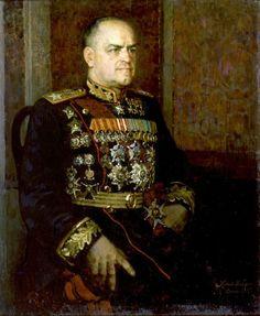 Georgy Zhukov - Marshal of the Soviet Union (1943). Peter Kotov